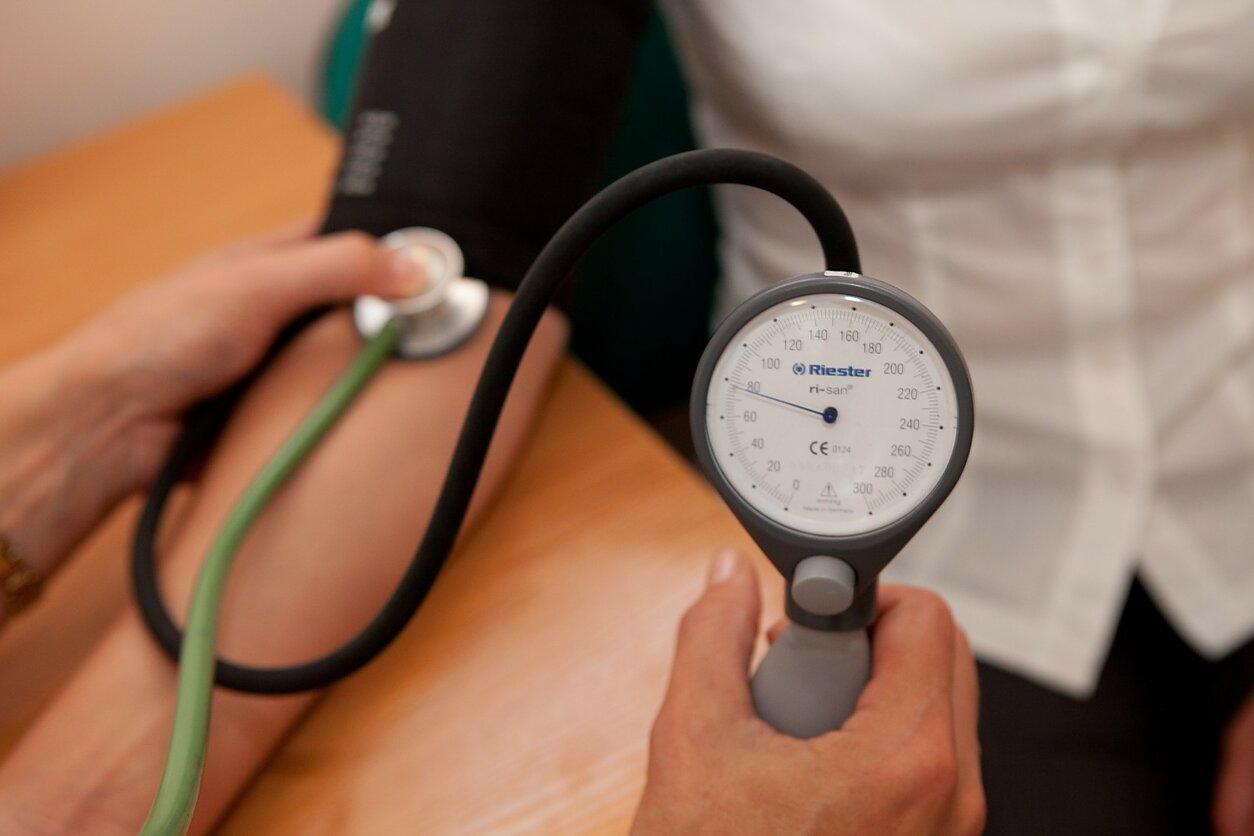 hipertenzijos gydymas ežere
