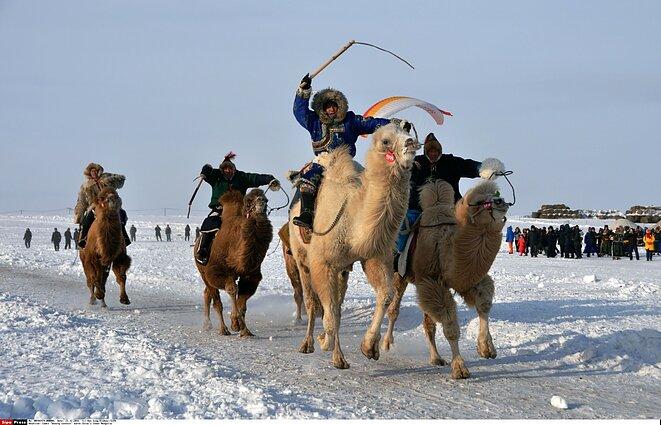 mongolų prekybos sistema