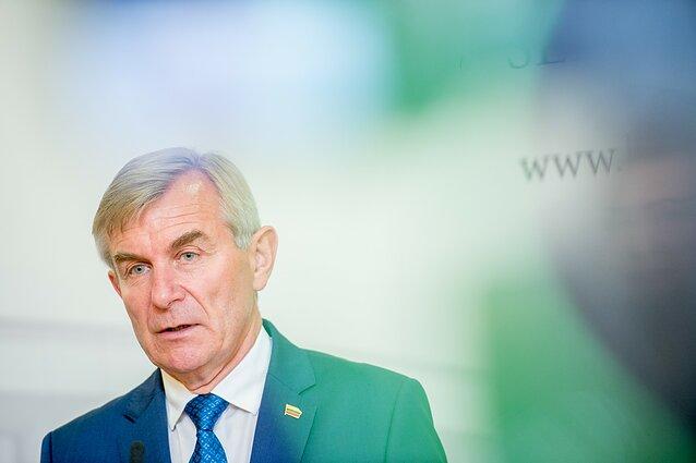 """V  Pranckietis sieks tapti """"valstiečių"""" kandidatu prezidento"""