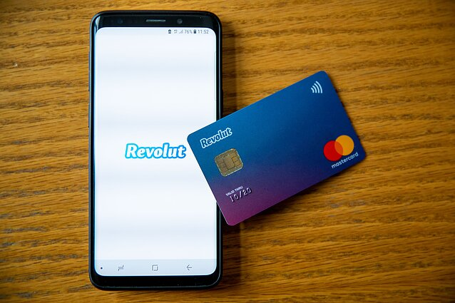 Revolut is a banking app