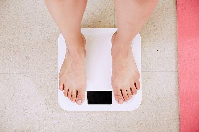 svorio metimas periodu