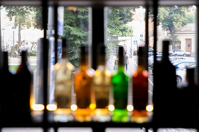 Alcohol consumption in Lithuania is gradually decreasing