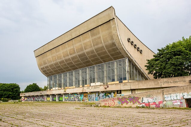 The Palace of Concerts and Sports in its current state