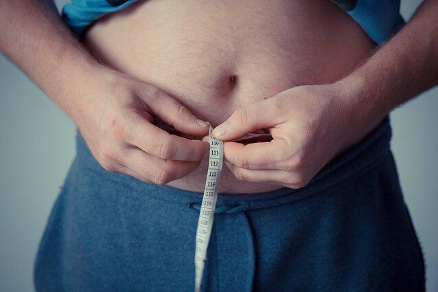 mažesnis pilvo riebalų deginimas)