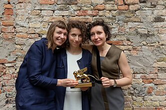 Rugilė Barzdžiukaitė, Vaiva Grainytė and Lina Lapelytė with were awarded Venice Biennale's Golden Lion