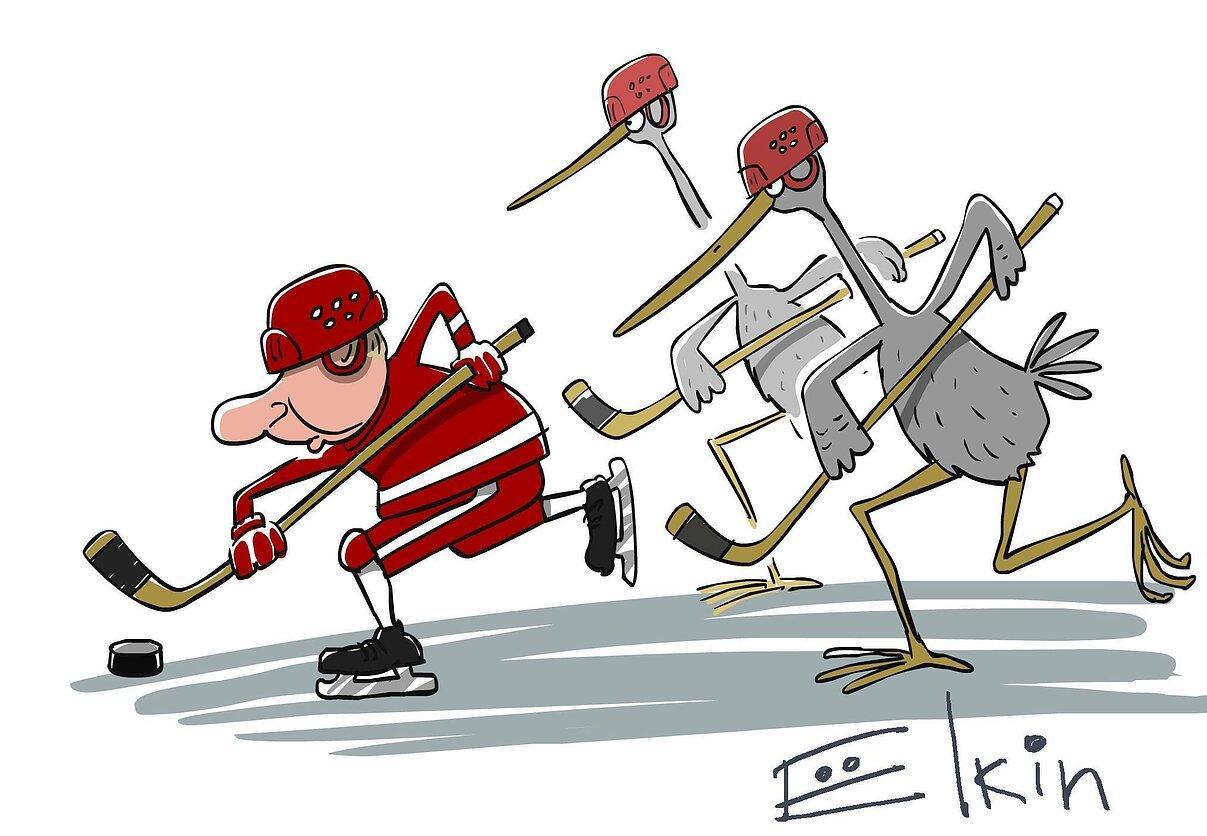 Картинки веселые хоккей