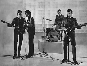 "Paulas McCartney su grupe ""The Beatles"""
