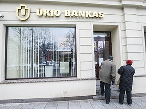 Ūkio Bankas was closed down by the Lithuanian central bank in 2013
