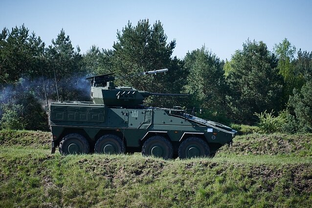 German Boxer IFVs for the Lithuanian military will feature an Israeli-made turret