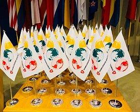 Pasaulio lietuvių bendruomenės vėliavos