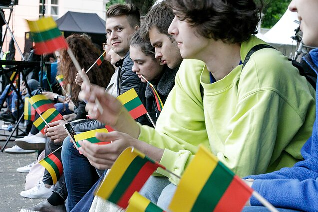 Population of Lithuania expanded by 145 people last year