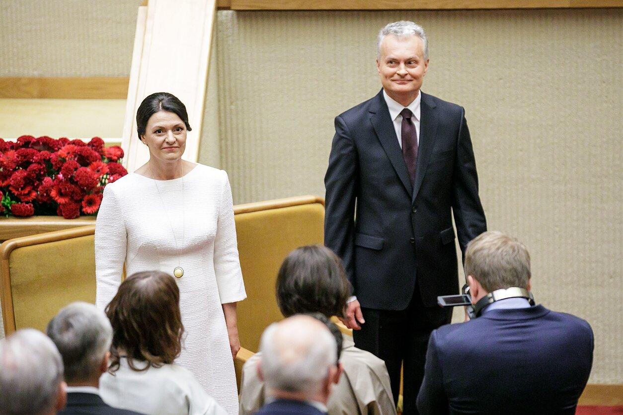 Gitanas Nausėda Seime prisiekia Lietuvai