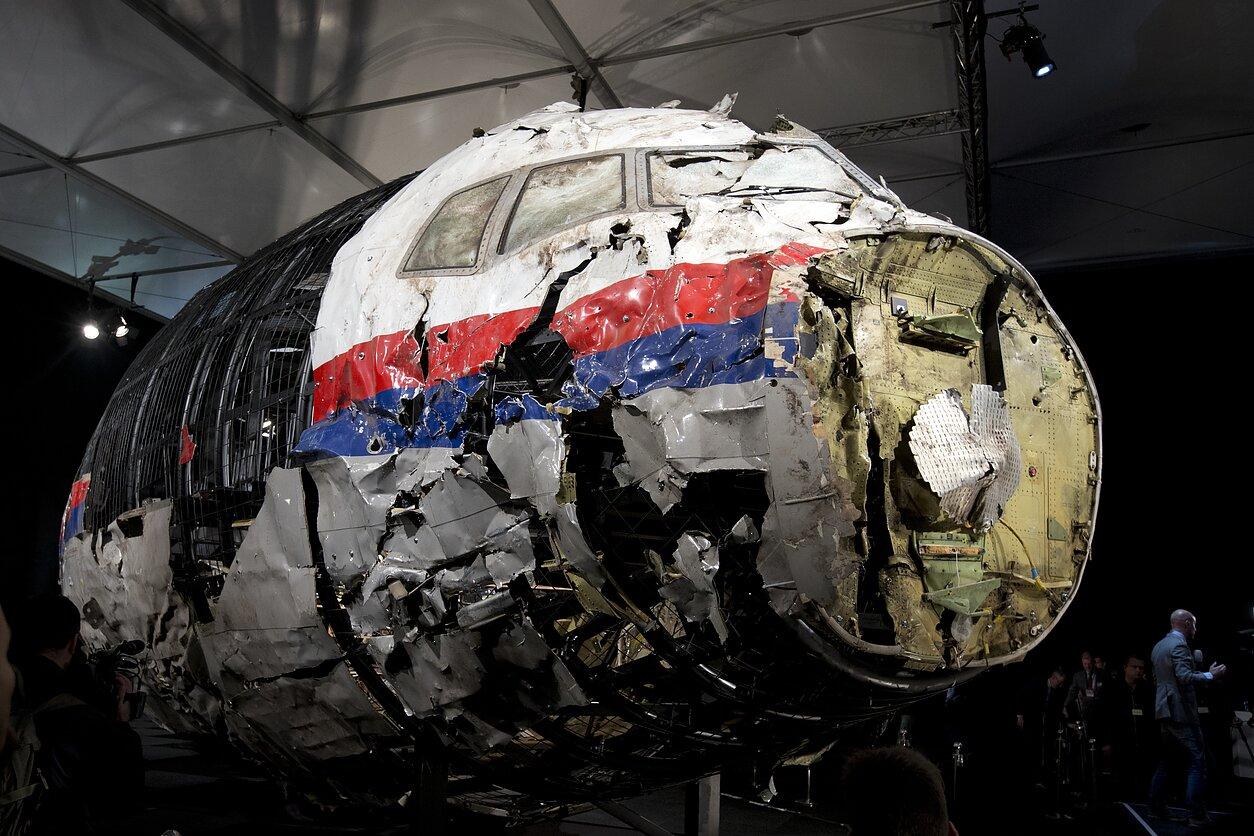 MH17 lėktuvo nuolaužos