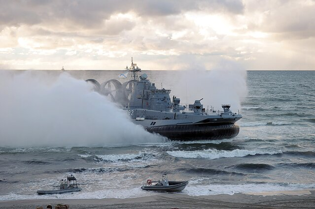 Kaliningrad is home to the Russian Baltic Fleet