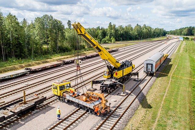 "Lietuva bendrai ""Rail Baltica"" valdymo įmonei skyrė 2,1 mln. eurų - LRT"