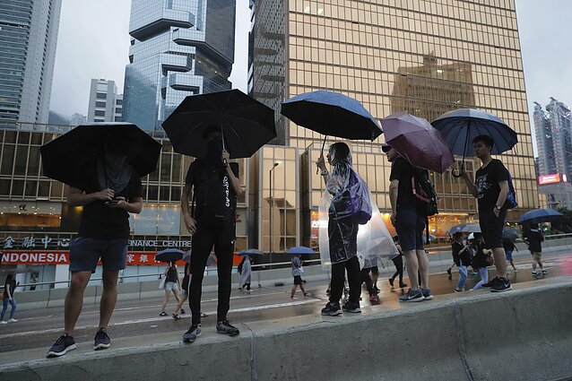 Protests erupted in Hong Kong in June