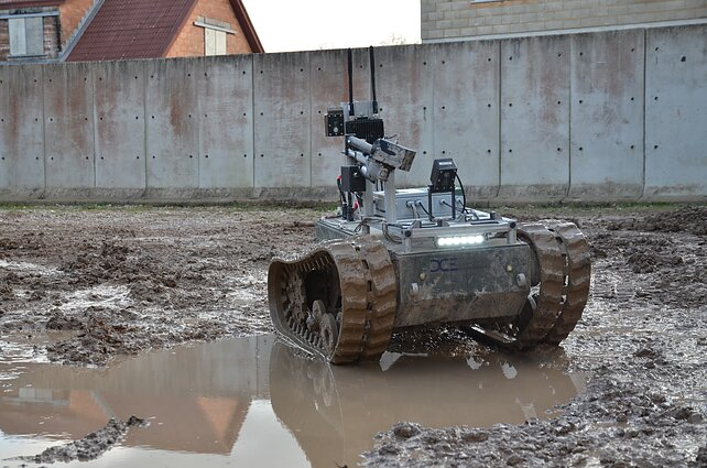 Estonia to lead EU's unmanned military vehicle project