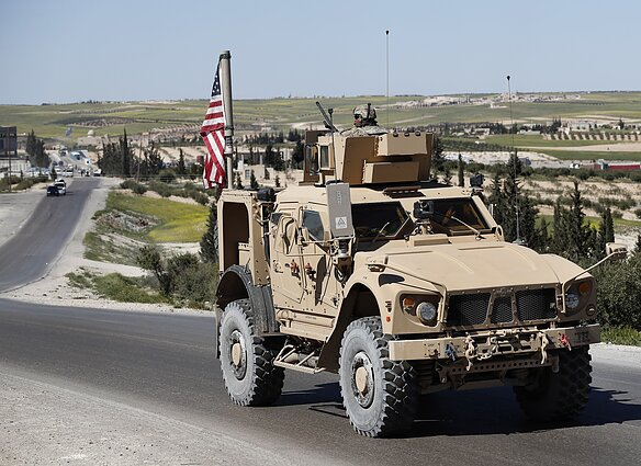 JLTVs are already in service with the US military, including in Syria