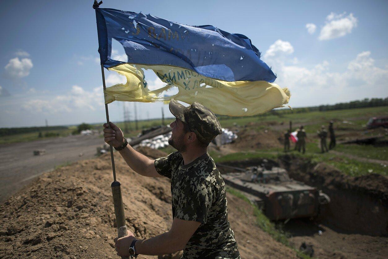 Karas Rytų Ukrainoje