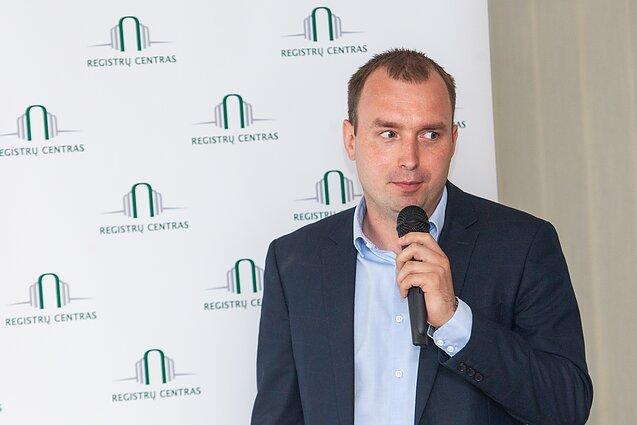 Paulius Rudzkis, Registrų centro Duomenų atvėrimo skyriaus vadovas