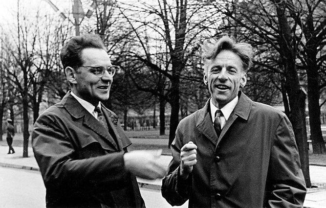 Donatas Sauka (dešinėje)