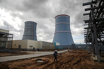 Astravyets NPP, some 50 kilometres from Vilnius and around 30 kilometres from the Lithuanian border