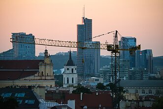 Offices and banks in Vilnius