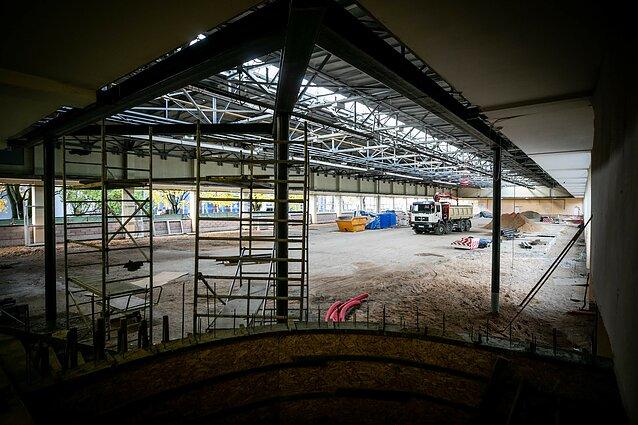 Vilniaus lengvosios atletikos maniežo rekonstrukcija