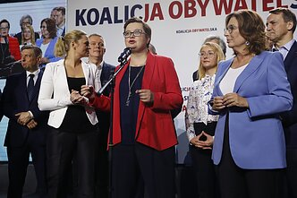 Members of the Civic Coalition in Poland