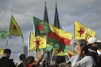 Kurdish rally in Cologne