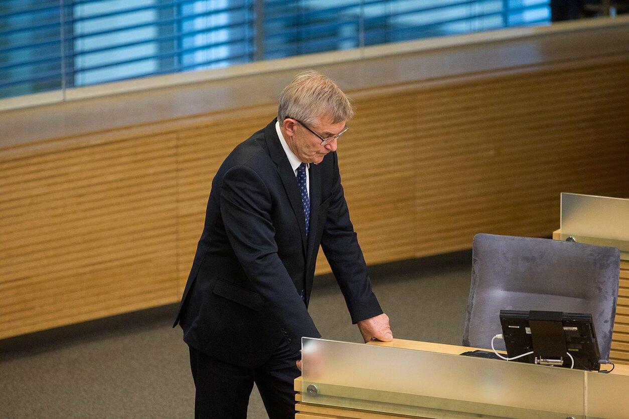Seime – mūšis dėl Seimo pirmininko posto