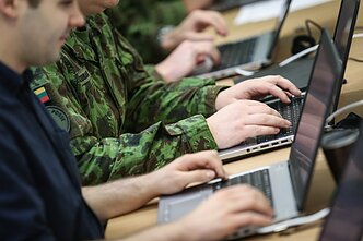 Lithuanian military and cyber security (associative)
