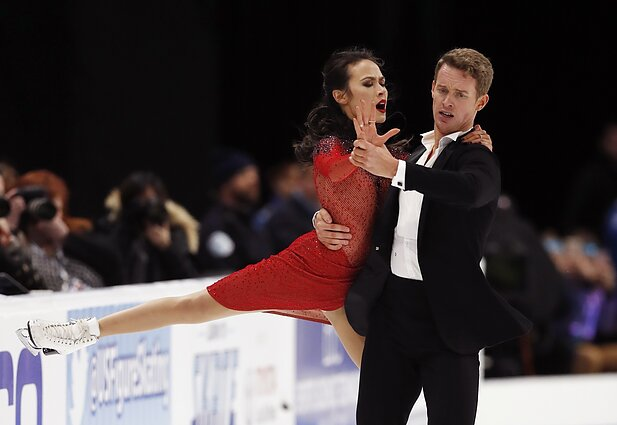 Madison Chock ir Evanas Batesas