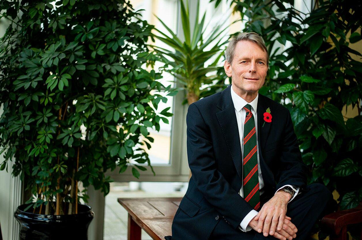 Jungtinės Karalystės ambasadorius Lietuvoje Brianas Olley
