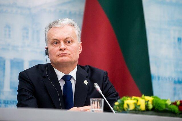Susitinka Lietuvos prezidentas Gitanas Nausėda ir Lenkijos prezidentas Andrzejus Duda