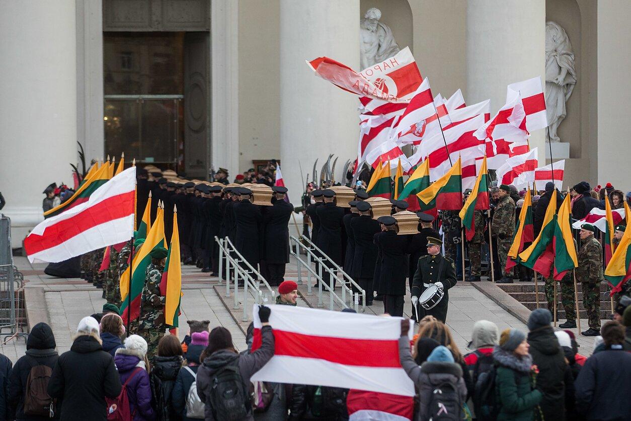 Sukilimo vadų ir dalyvių laidotuvės