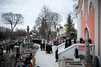 Commanders of the January Uprising were reburied in Rasos Cemetery in Vilnius