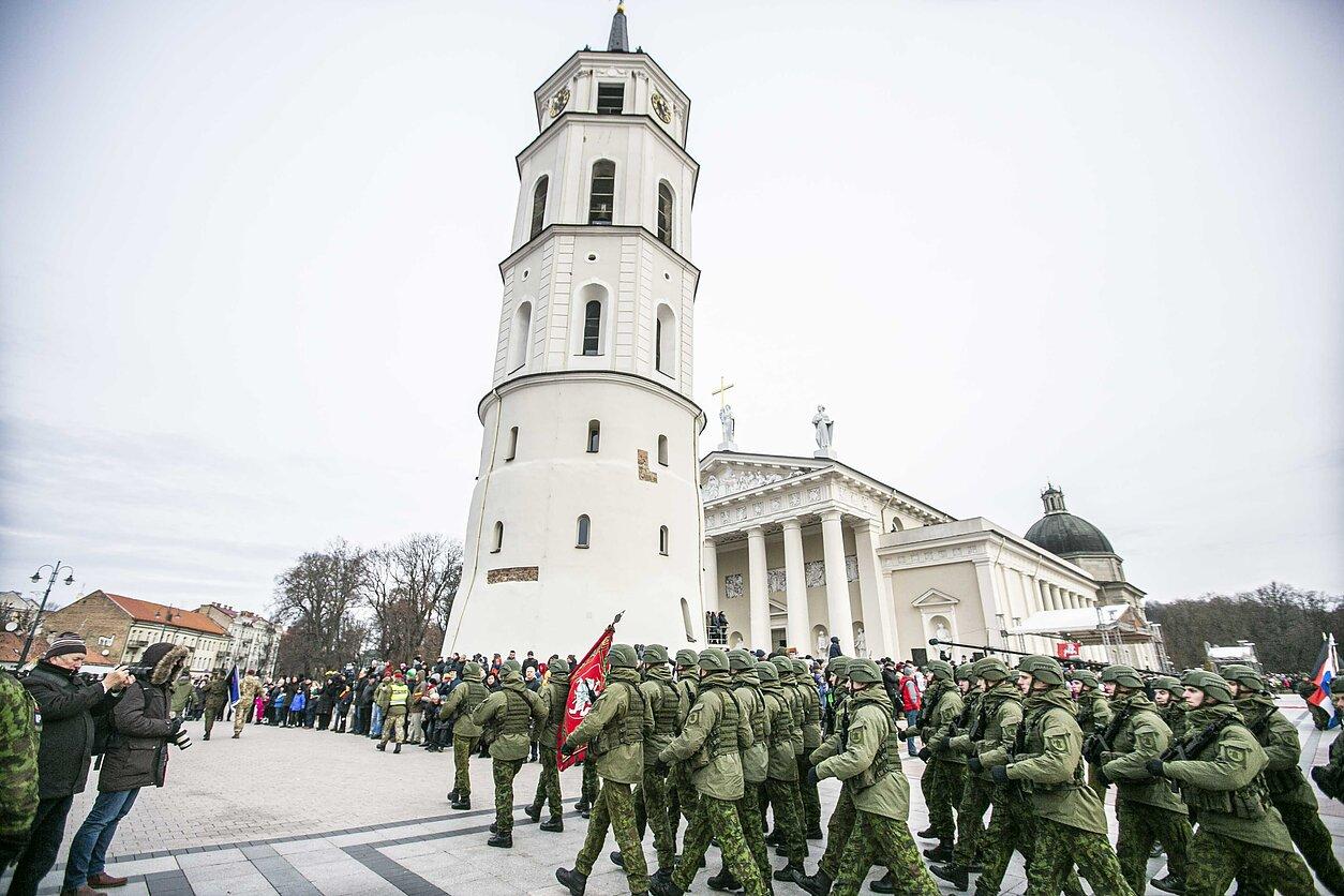 Lietuvos kariuomenės diena Vilniuje