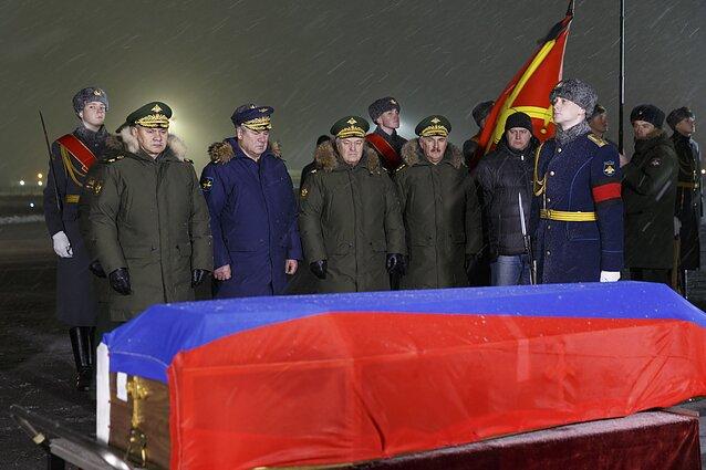 Rusijoje pagerbiami numušto naikintuvo pilotai