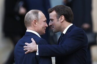 French President Emmanuel Macron was one of the few European leaders in recent years to meet with Russian President Vladimir Putin