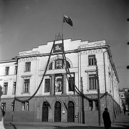 Lithuania's Ministry of Foreign Affairs in Kaunas, 1930s