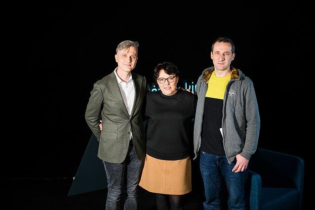 Aurimas Švedas, Lolita Bytautaitė, režisierius Donatas Simaitis