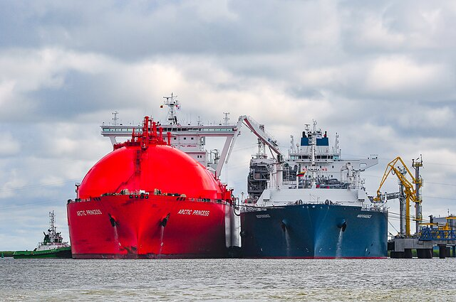 Lithuania's LNG terminal in Klaipėda. PM Saulius Skvernelis said Belarus could also import natural gas via Lithuania