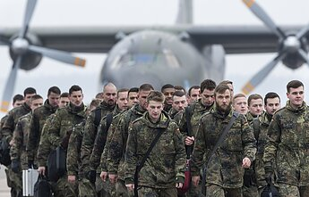 German-led NATO battalion has been stationed in Lithuania since 2017