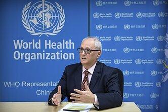 Pasaulio sveikatos organizacijos atstovas Kinijai Gaudenas Galea