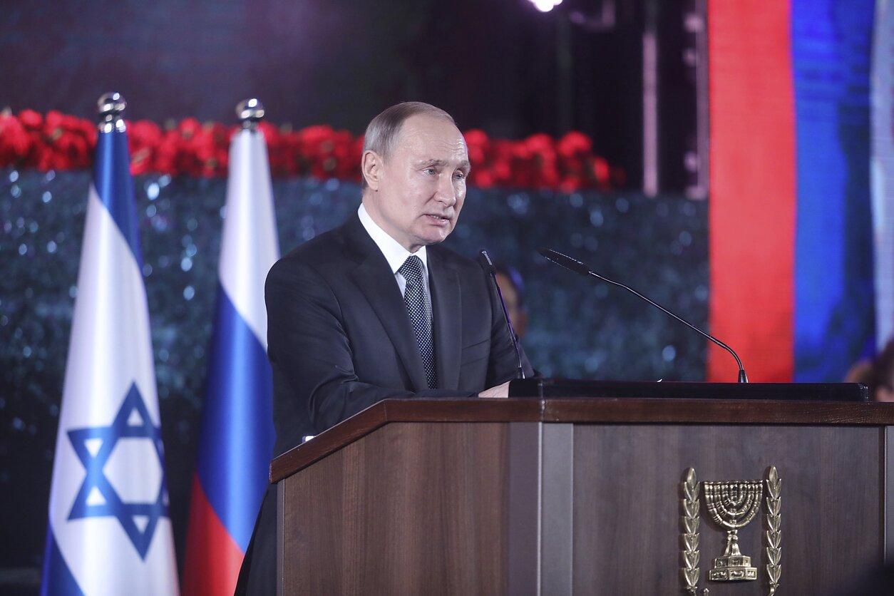 Vladimiras Putinas lankosi Izraelyje