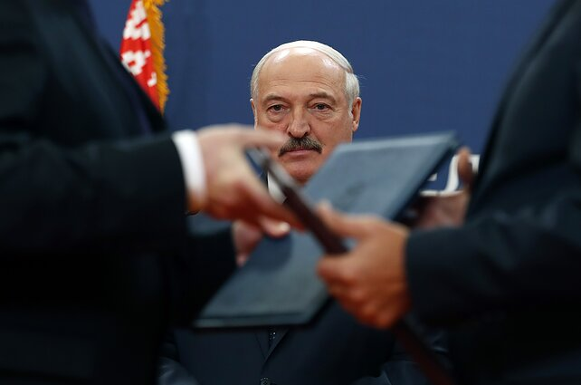 """I can't betray you and dissolve Belarus, even into brotherly Russia."", Belarusian President Alexander Lukashenko said in January 2020 after accusing Moscow of pressuring Minsk into a merger"