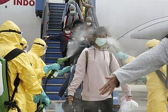 Other countries have taken measures to quarantine passengers arriving from coronavirus hotspots in China