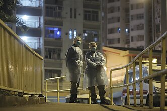 Millions of people are on lockdown in China after the breakout of coronavirus