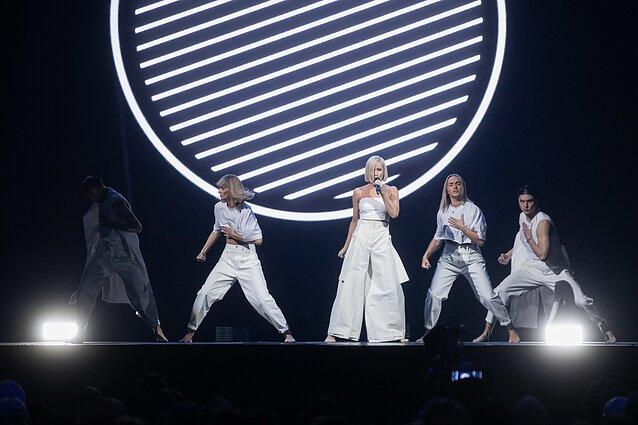 "Eurovizija 2020. Finalas. Rūta Loop – ""We Came from the Sun"""